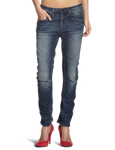 G-STAR RAW Damen Arc 3D Tapered Jeans, Blau (medium Aged Destroyed 4264-3142), 26W / 32L