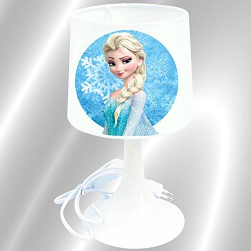 RDN - Lampe de chevet de création Reine des Neiges - Lampe à poser enfant - Frozen
