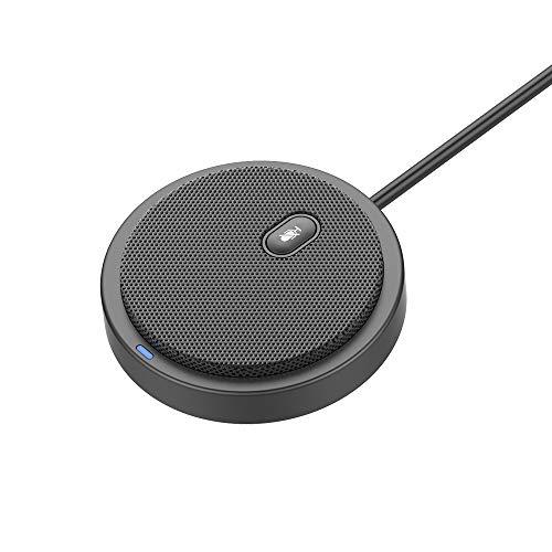 Docooler Microfone Condensador Omnidirecional UM02, USB, Portátil