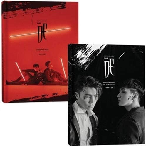 Clearance SALE Manufacturer regenerated product Limited time Super Junior DE - Danger CD+PhotoBook+1 Mini Random 3rd Album