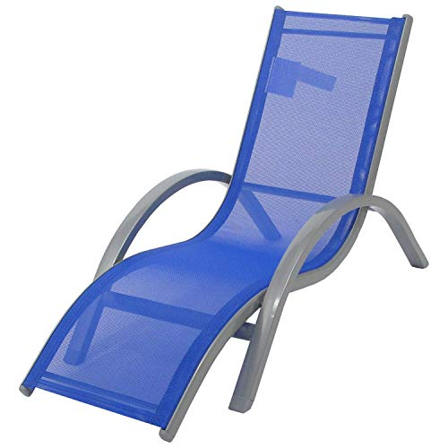 Redmon For Kids Beach Baby Kids Lounger, Blue, Small