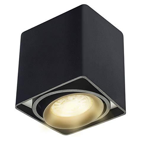 Budbuddy Focos para el techo LED lamparas de techo led Luces de Techo Plafón Focos de techo Lamparas con focos casquillo GU10 230V【incluye 5W bombillas LED】