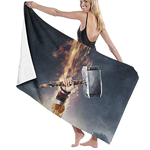 Cozy-T TH-Or-Hammer Hand Toalla,Extra Large Women Baño Toallas For Gym Travel Running,80x130cm