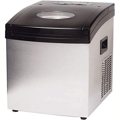 HIZLJJ Eiswürfelmaschinen, Automatische tragbare Aufsatz- Eisherstellermaschine