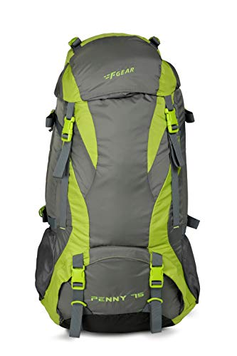 F Gear Penny 75 Ltrs Green Gry Rucksack (3210)