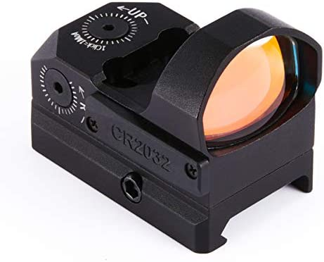 Pinty Pro 3 5 MOA Red Dot Sight with Built in Picatinny Weaver Rail Mini Red Dot Reflex Sight product image