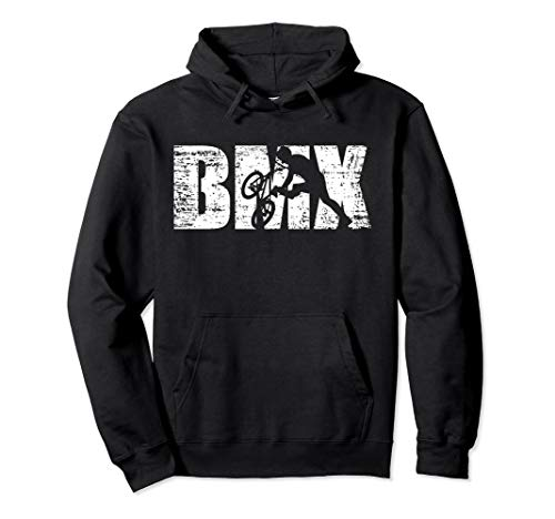 Cool Distressed BMX hoodie for BMX riders