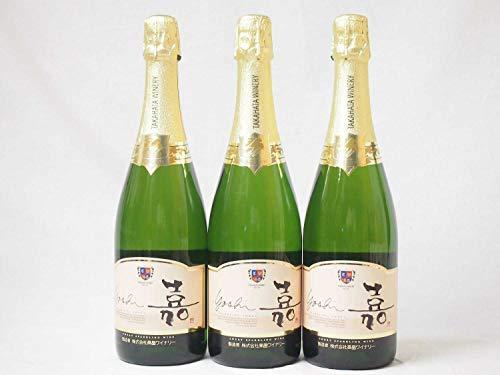 3本セット 高畑 嘉スパークリングスウィート マスカットオレンジ 甘口スパークリングワイン 750ml×3本