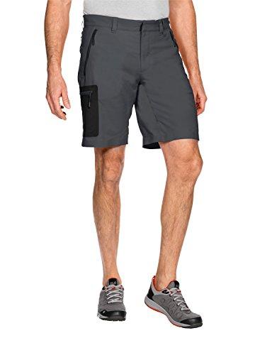 Jack Wolfskin Herren Active Track Shorts, Dark Iron, 48