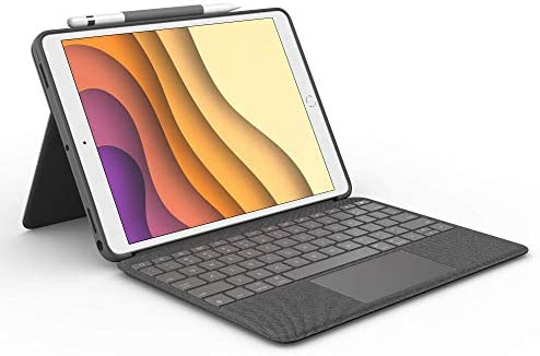 Logitech Combo Touch for iPad Air 3rd Generation and iPad Pro 10 5 inch Keyboard case with trackpad product image