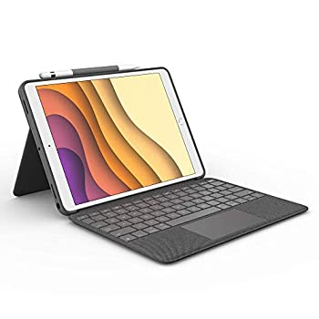 Logitech Combo Touch for iPad Air  3rd Generation  and iPad Pro 10.5-inch Keyboard case with trackpad Wireless Keyboard and Smart Connector Technology - Graphite