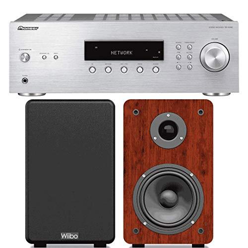 Equipo HiFi PIONEER SX-10AE-S, Receptor Estéreo Bluetooth 100+100 W + Altavoces Karino 200