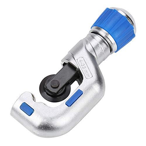 Herramienta de Tubo Cortador Herramienta de refrigeración HVAC 4-32 mm/5-50 mm Herramienta de Corte de Tubo Cortador de Tubo de rodamiento de Bolas para Cobre Aluminio Acero Inoxidable(4-32mm)