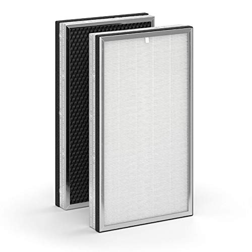Medify Air MA-112 Replacement Filter | 1 Set of Filters | Medical Grade True HEPA H13 | Two Replacement Filters