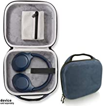 Blue Headphone Case for Sony WH-XB900N Wireless Noise Canceling Extra Bass Headphones, Feature Skin line Surface with Matching Color, Removable mesh Accessory Pocket, Easy to go Handle, Secure Strap