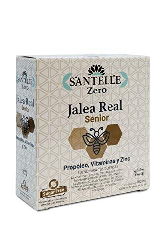 Santelle Santelle Jalea Real Senior Con Propóleo, Vitaminas Y Zinc 10 Viales De 10 Ml 240 g