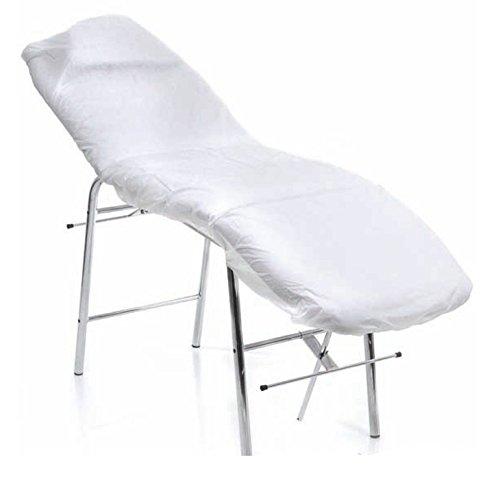 takestop® COPRILETTINO Massaggi Professionale Copri Lettino in TNT 90x220cm ROL_449 Traspirante Estetista Colore Casuale