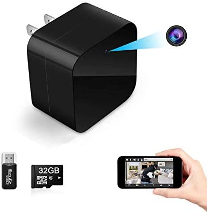 Hidden Spy Camera WiFi Charger Night Vision Wireless WiFi USB Charger Camera Spy Camera Adapter product image
