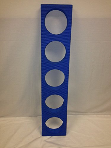 Buy Discount New INA Exercise EVA Foam Roller Stand Cart Rack Holds 5