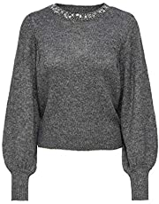 Only Onlelsa L/S Pullover Knt Maglione Donna