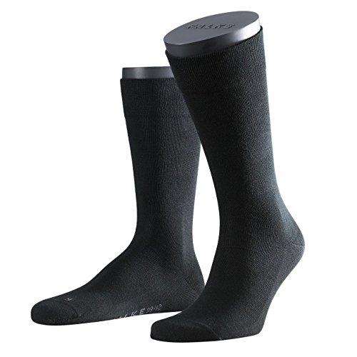 FALKE Herren Functional Socken London 2er Pack, Größe:43-46;Farbe:Black (3000)