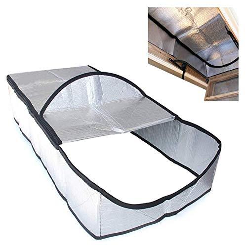 Cubierta De Aislamiento Para Escaleras De Ático Para Escalera Abatible, Aislante De Escalera A Prueba De Fuego Papel De Aluminio De Doble Cara Escalera De Escalera Para Ático, Cubierta Aislante