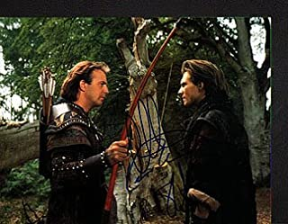 ROBIN HOOD - PRINCE of THIEVES (Kevin Costner & Christian Slater) 11x14 Cast Photo Signed In-Person