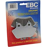 EBC Brakes FA457VLD VLD Chrome Semi-sintered Touring Bike Disc Brake Pad