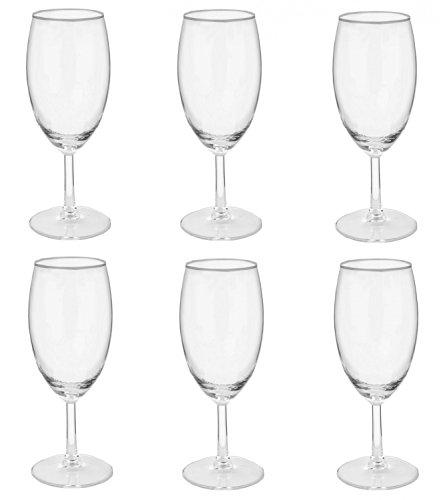 Van Well Magic Biertulpen, 6 Gläser, 380 ml, Bierglas, Markenglas, glasklar, Hochglanz