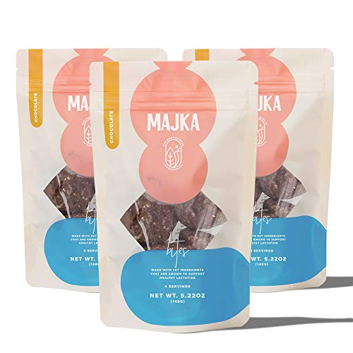 Majka | Lactation Cookie Bites | Breastfeeding Cookie To Nourish and Promote Healthy Breast Milk Supply | Gluten Free and Vegan… (Chocolate)