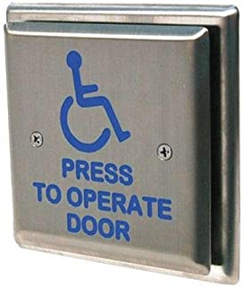 handicap door access switch push button