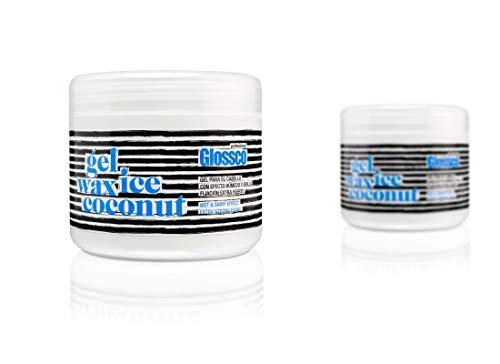 Glossco, G51433, Gel Definidor Fijación Extra Fuerte Duración Efecto Húmedo Y Brillo, 500 ml