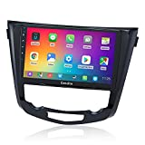 Dasaita Autoradio Bluetooth para Nissan Qashqai J11 X-Trail Rouge 2014 2015 2016 2017 2018 Carplay Android Auto GPS WiFi Am FM Radio 4G RAM + 64G ROM Pantalla táctil de 10.2 '