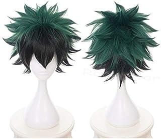 Shumeier My Hero Academia Midoriya Izuku Synthetic Cosplay Anime Hair Wig