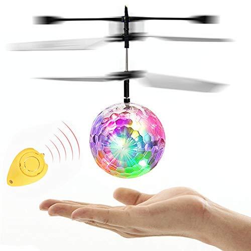 LRHD RC TOYS EPOCHAIR RC Bola de vuelo eléctrica LED Helicóptero Drone Flashing Light Aircraft Helicóptero Bola Inducción Juguetes Niños Regalo Mini Drone Volar Juguetes Para Niños Adultos