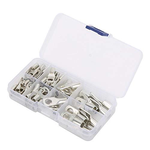 60PCS Accesorios de cableado de terminales de tubo Cierre las piezas eléctricas...