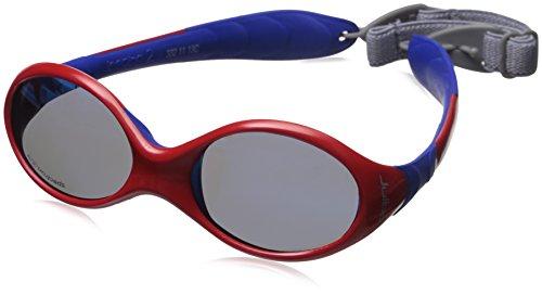 Julbo Loopin II - Gafas de sol para bebé, color rojo, azul, lente Spectron 3 CF, 12-24 meses