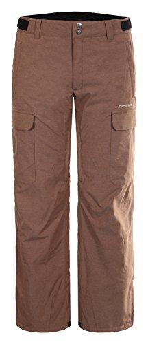 Icepeak Kenta Pantalon de Ski Homme, Cafe Au Lait, FR : XS (Taille Fabricant : 46)