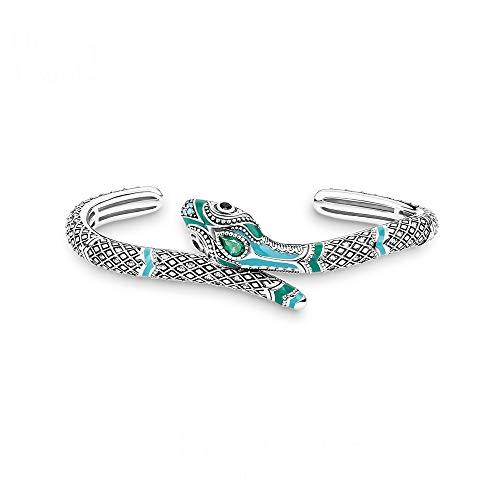Armband Armreifen Schlange Thomas Style Modeschmuck Für Frauen Frühling Böhmen Tropisches Mystisches Geschenk In 925 Sterling Silber