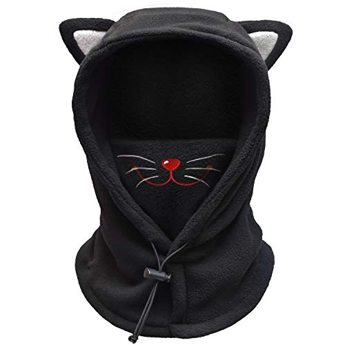 FCY Kids Balaclava,Boys/Girls Winter Hat,Fleece Ski Mask,Windproof Face Mask