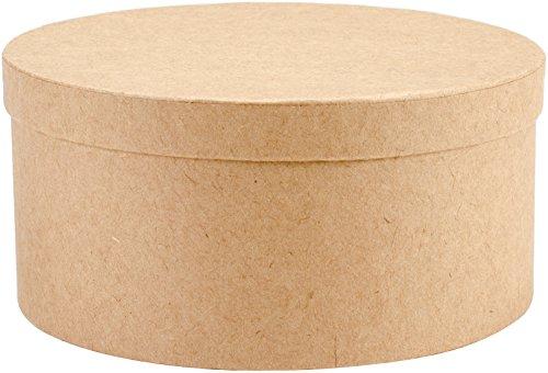 Art Alternatives MVPM06205 Paper-Mache Round Box Set 5/Pkg