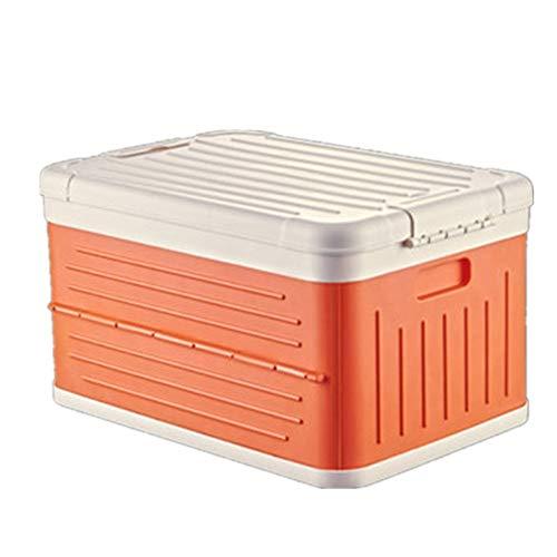 ZDAMN Cesta de Almacenamiento Almacenaje Plegable Cesta Compartimiento Juguete Caja de Almacenamiento Utilidad de distribución de contenedores 45L Estuche de Almacenamiento para el Hogar