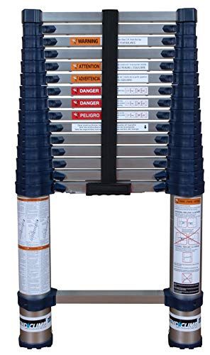 Xtend amp Climb Pro Series 785P Telescoping Ladder Blue
