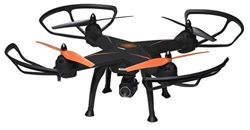 Denver, Dron Tamaño Grande DCH-640. Cámara HD de 2MPixel y función de Giro 360 °. Tiempo de Vuelo de 8-10 Minutos por Carga