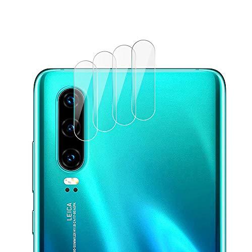 RSSYTZ 【4 piezas】Cámara Trasera Lente para Huawei P30 Pro, Protector Cámara [Alta definición] Cristal Templado para Huawei P30 Pro