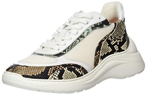 Unisa Damen ESCACE_20_VIP Sneaker, Mehrfarbig (White/Sunt White/Sunt), 41 EU