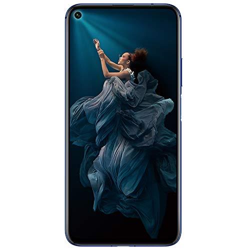 Honor 20 (Sapphire Blue, 6GB, 128GB Storage)