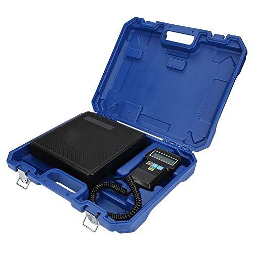 HJTLK Báscula de baño Digital, báscula electrónica Digital para Carga de refrigerante Báscula para procesamiento automático de recuperación de refrigerante de CA