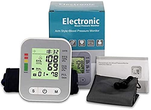 Monitoratore del misuratore di pressione sanguigna Full-Automatic Pulse Machine Heartbeat Test Test ARM Misura Sfigmomanometro Tonometer