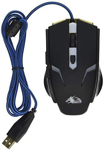 ROCKSOUL RSMS-00115 6D Optical Gaming Mouse, Black